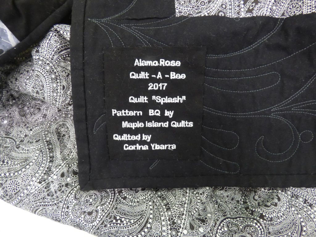 BQ quilt